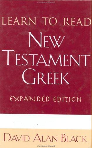 Download Learn to read New Testament Greek