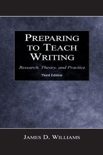 Download Preparing to teach writing