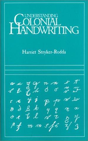 Download Understanding colonial handwriting