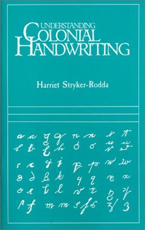 Download Understanding Colonial Handwriting