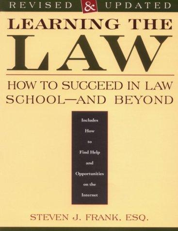 Download Learning the law