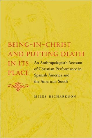 Download Being-In-Christ and Putting Death in Its Place
