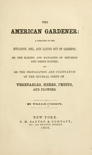 Download The American gardener