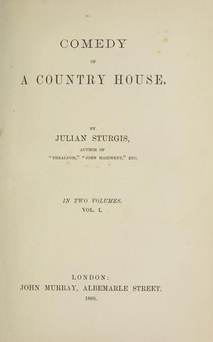 Comedy of a country house