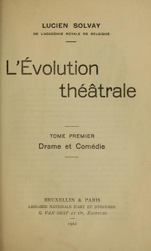 Download L' évolution théâtrale.