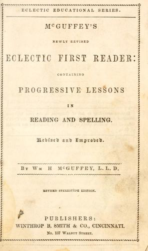 Download McGuffey's newly revised eclectic first- reader