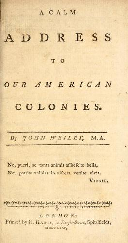 Download A calm address to our American colonies