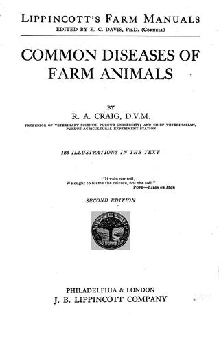 Download Common diseases of farm animals