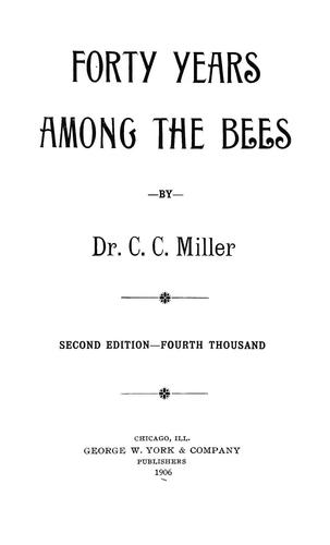 Forty years among the bees