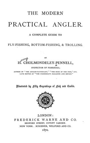 Download The modern practical angler