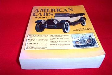 Standard catalog of American cars, 1805-1942