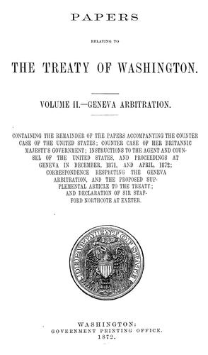 Download Papers relating to the treaty of Washington …