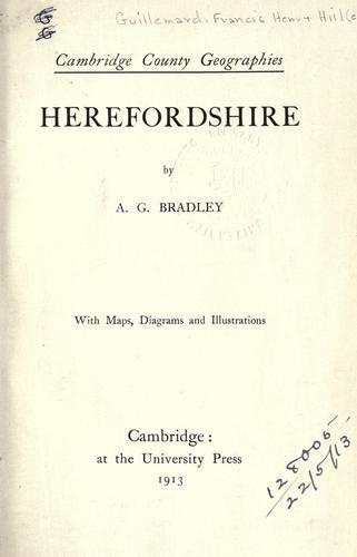 Herefordshire.