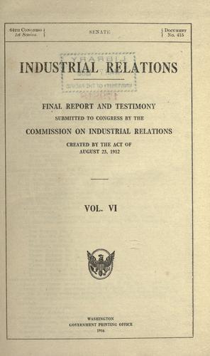 Download Industrial relations