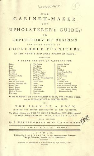 Download The cabinet maker and upholsterer's guide
