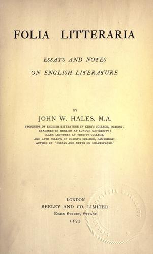 Download Folia litteraria