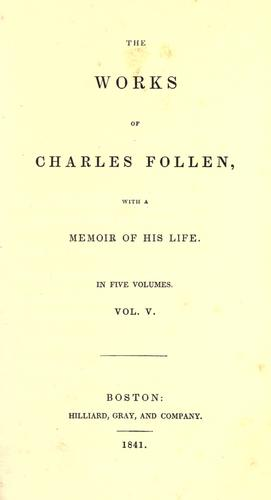 Download The works of Charles Follen