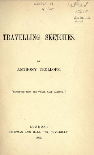 Download Travelling sketches.