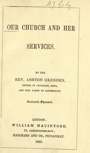 Download Our church and her services