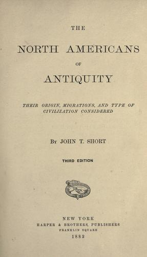 Download The North Americans of antiquity