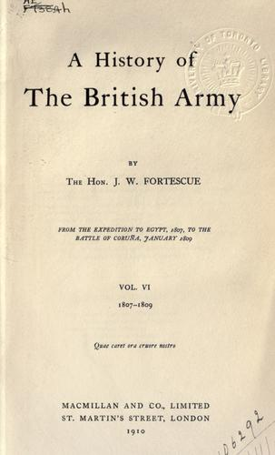 A history of the British army.