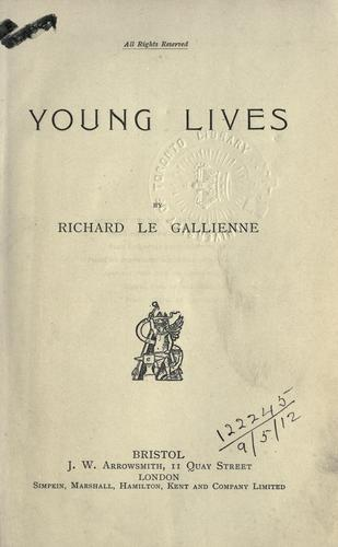 Young lives.