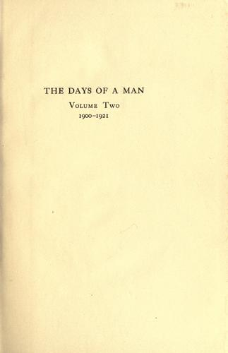 Download The days of a man