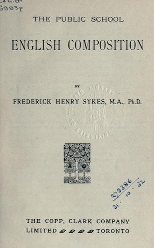 Download The public school English composition.