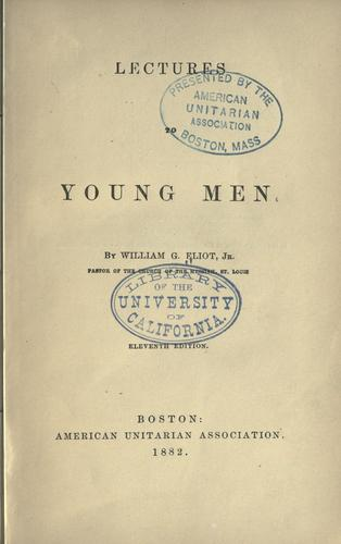 Download Lectures to young men
