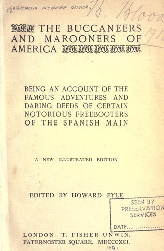 Download The  buccaneers and marooners of America.