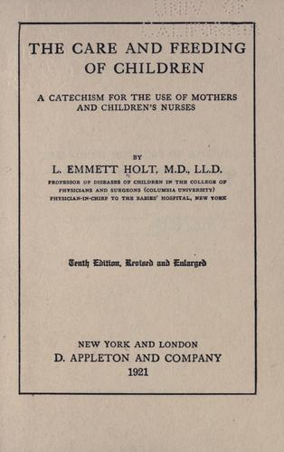 Download The care and feeding of children