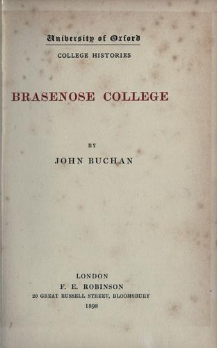 Download Brasenose college