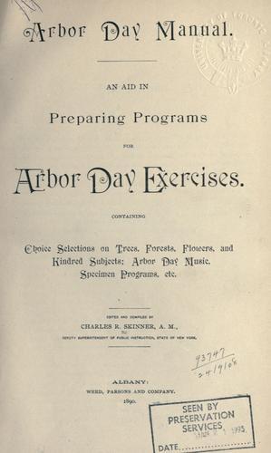 Download Arbor day manual.