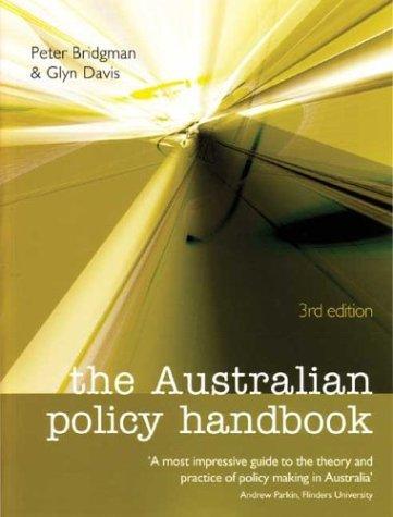 Download The Australian policy handbook