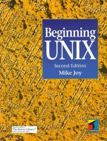 Download Beginning UNIX