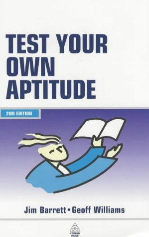 Download Test your own aptitude