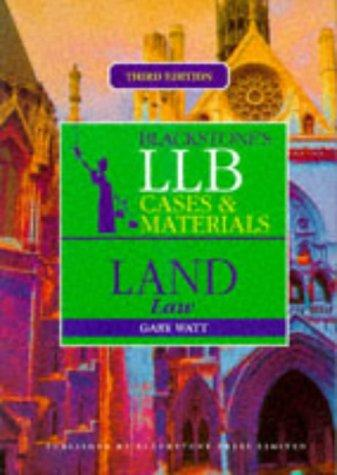 LLB Cases and Materials (Blackstones LLB Cases & Materials)