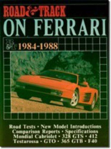 Road and Track on Ferrari