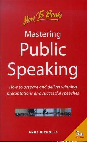 Download Mastering Public Speaking