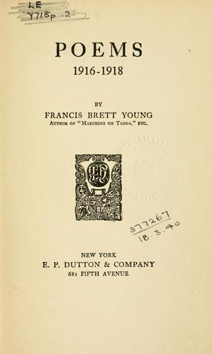 Poems, 1916-1918.