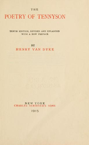 Download The poetry of Tennyson