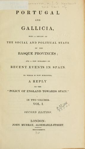Portugal and Galicia