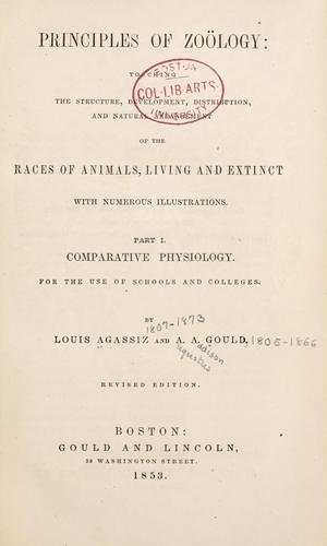 Download Principles of zoölogy