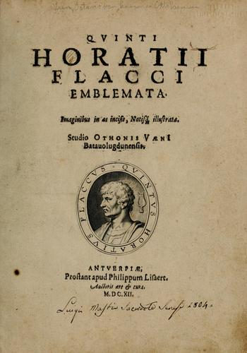 Download Quinti Horatii Flacci emblemata