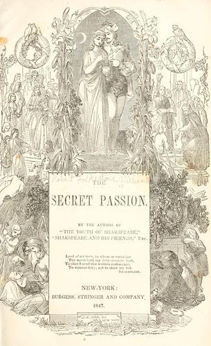 Download The secret passion