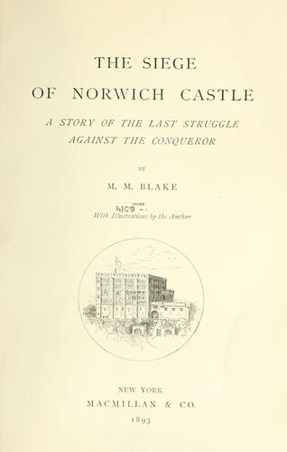The siege of Norwich Castle
