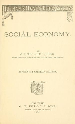 Download Social economy.
