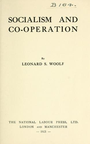 Download Socialism and co-operation