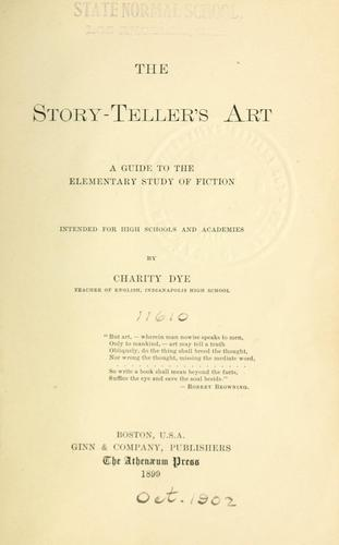 Download The story-teller's art