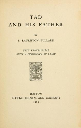 Download Tad and his father